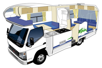 UNITED.6-BERTH.MOTORHOME